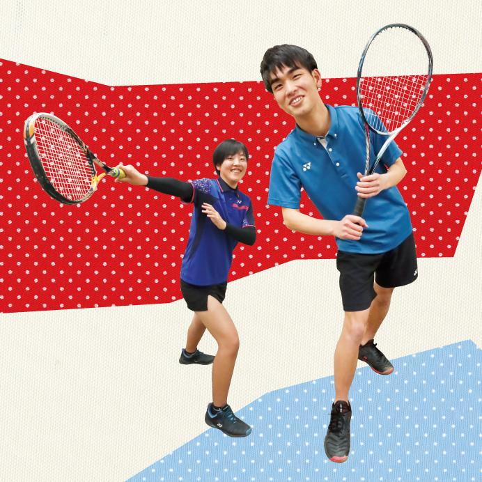 ソフトテニス部[高等学校]写真