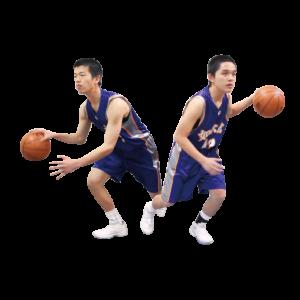 男子バスケットボール部[高等学校]写真