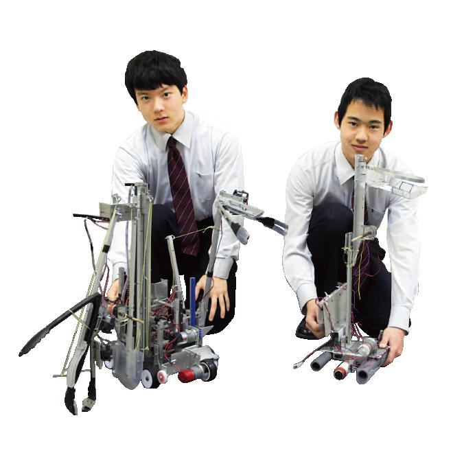 ロボット研究部[高等学校]写真