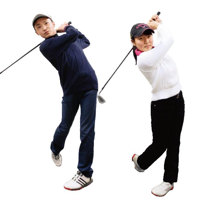 ゴルフ部[中学校]写真
