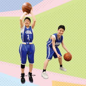 バスケットボール部[中学校]写真