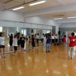 JSK(中学校)三原やっさ踊り参加(練習風景) 7月20日