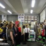 ニュージーランド・パーマノース市長一行歓迎演奏(吹奏楽部) 7月25日