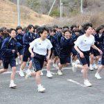 マラソン大会(中学女子)