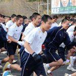 マラソン大会(高2年男子)