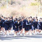 マラソン大会(高2年女子)