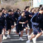 マラソン大会(高1年女子)