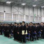 第24回卒業証書授与式(校歌斉唱)