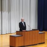 第24回卒業証書授与式(理事長告辞)
