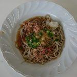 食文化(専攻科目)(そば打ちを見学しました。備後蕎友会)