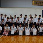 中サッカー表彰2