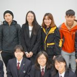 三原国際外語学院との交流会